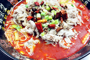 Fatty Beef in Spicy Chili Broth - delivery menu