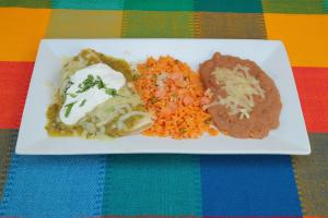 Enchiladas Suizas Specialty - delivery menu