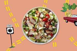 Key West Jerk Chicken Salad - delivery menu