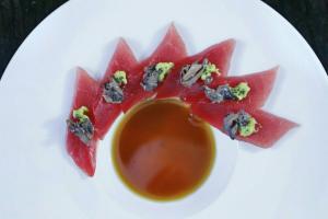 Ahi Tuna Tataki - delivery menu