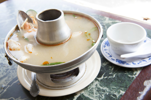 26. Spicy Seafood Soup (Poa Tak) - delivery menu
