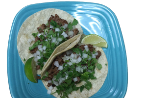 Two Steak Tacos - delivery menu