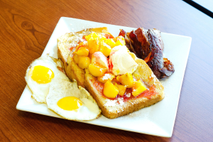French Toast Breakfast Platter - delivery menu