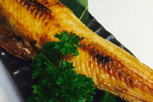 Grilled atka mackerel (Hokke) - delivery menu
