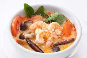 Tom Kha Shrimp Soup - delivery menu