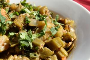 24. Bhindi Masala - delivery menu