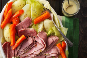 St. Patty's Day Corned Beef Platter - delivery menu