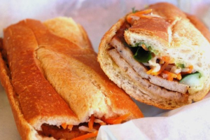 Shrimp Cake Sandwich - delivery menu