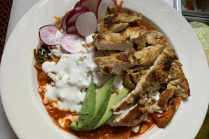 Chilaquiles and Eggs Combo - delivery menu