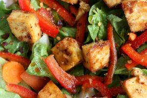 Crispy Tofu Salad - delivery menu