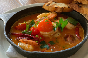 Gambas al Ajillo - delivery menu