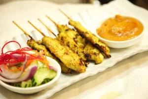 12. Chicken Satay - delivery menu