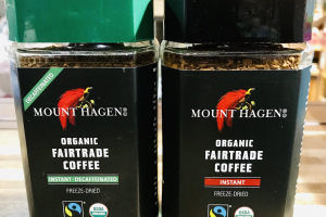 Mount Hagen Organic coffee - delivery menu