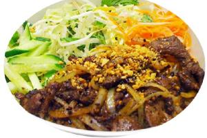 B9. Bun Bo Xao Sate - delivery menu