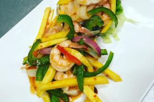 Thai Mango Shrimp - delivery menu