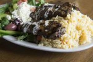 Kafta Shish Kabobs Combo Plate - delivery menu