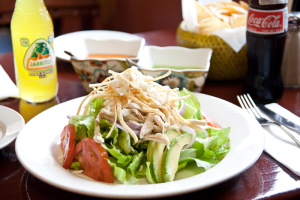Pulled Chicken Salad - delivery menu