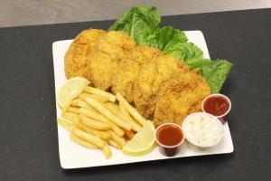Catfish Steak Dinner - delivery menu