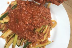 Zucchini Spaghetti Pasta - delivery menu