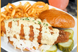 Fish Fry Sandwich - delivery menu