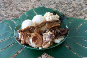 Hawaiian BBQ Mix - delivery menu