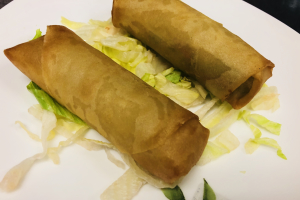 A13. 2 Pieces Spring Rolls - delivery menu