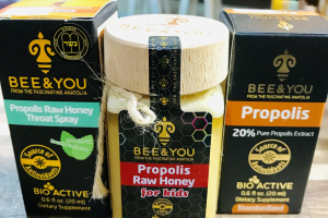 BEE & YOU, Raw honey products - delivery menu