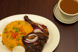 Rice with Chicken - delivery menu