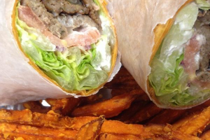 The Greek Goddess Wrap - delivery menu