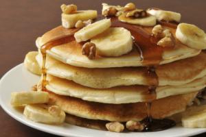 Individual Pancakes Tray - delivery menu