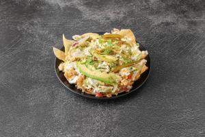 Nachos con Carne - delivery menu