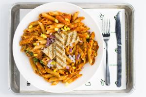 P1. Salsa & Carne Pasta - delivery menu