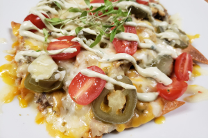 NEW!!! Pork Belly NACHOS - delivery menu