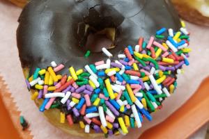 Chocolate Sprinkle Donut - delivery menu