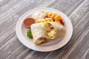 Breakfast Combo Burrito - delivery menu