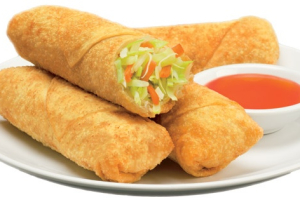 3. Vegetarian Egg Rolls - delivery menu