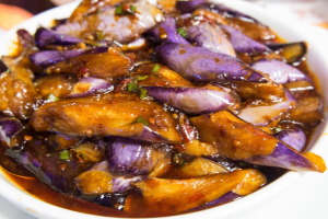 96. Quart of Eggplant with Garlic Sauce - delivery menu