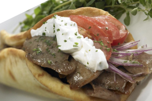 Gyros Sandwich with Fries and Pop Special - delivery menu