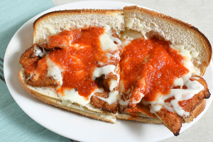 Chicken Parmigiana Hero - delivery menu