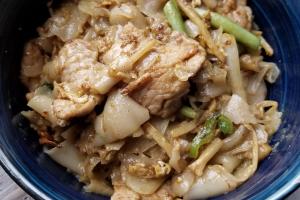 Green Thunder Noodles - delivery menu