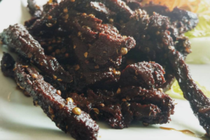 Fried Soy Beef Jerky - delivery menu