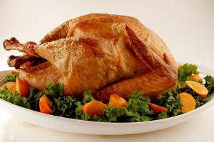 Complete Thanksgiving Turkey Dinner - delivery menu
