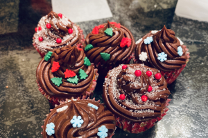 Holiday Mini Cupcakes  - delivery menu
