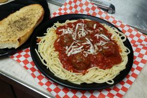 Spaghetti with Meatballs - delivery menu