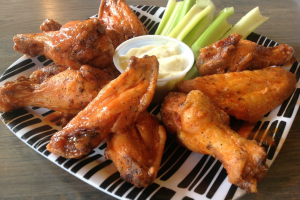 10 Free-Range Wings - delivery menu