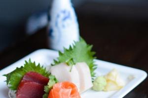 Trio Sashimi - delivery menu