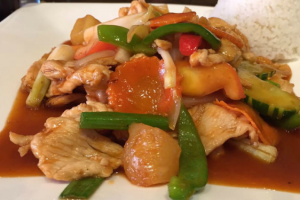 En5. Sweet and Sour - delivery menu