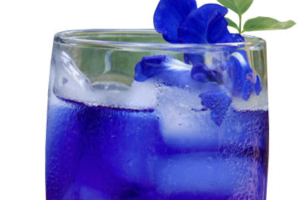Lime butterfly pea - delivery menu