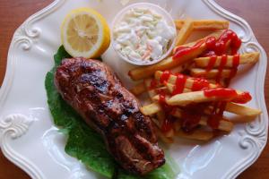 Boneless Chicken Breast Platter - delivery menu