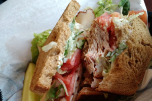 Cajun Turkey Overstuffed Sandwich - delivery menu